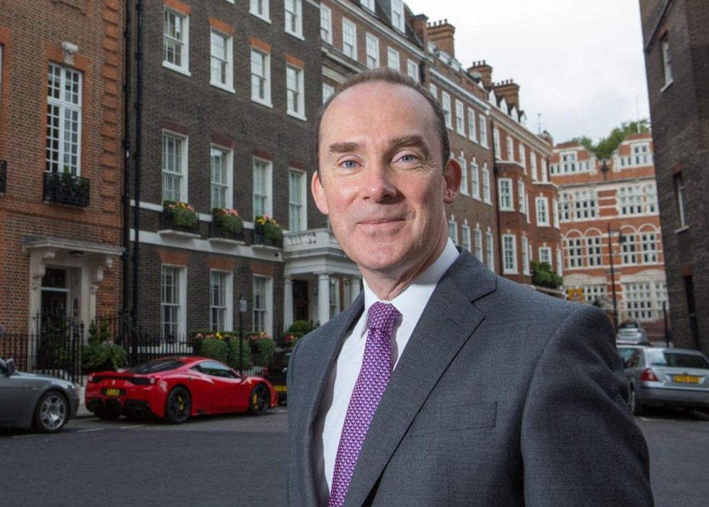head shot of Simon Knight, CEO, John Charcol