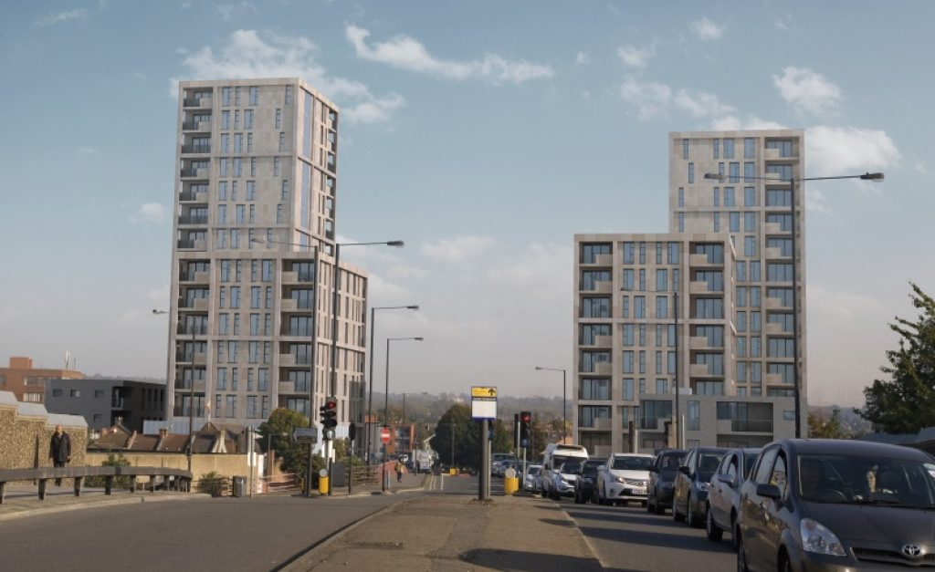 Palmerston Road development Harrow