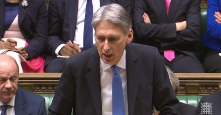 Philip Hammond Chancellor Budget 2017