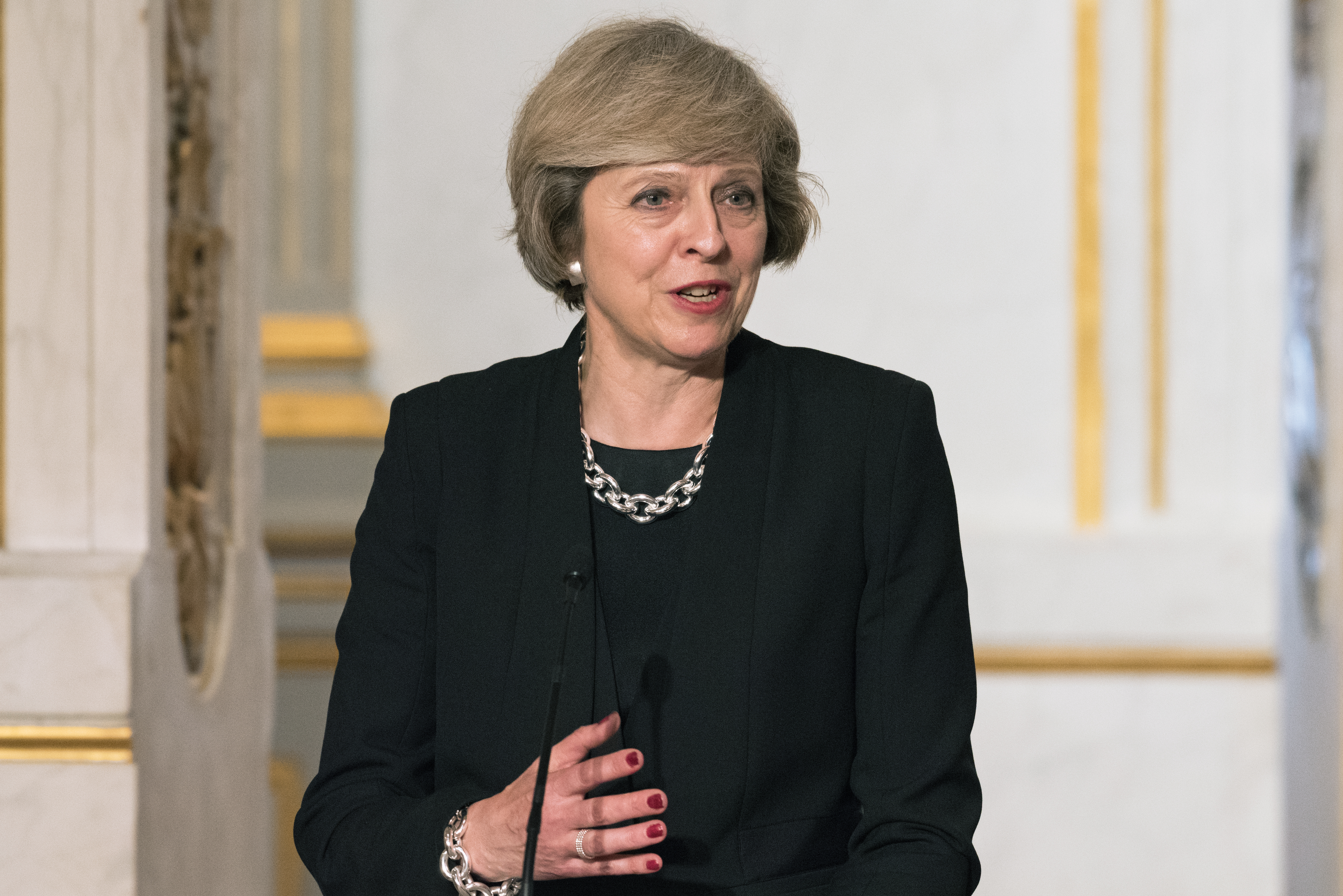 theresa may women in finance