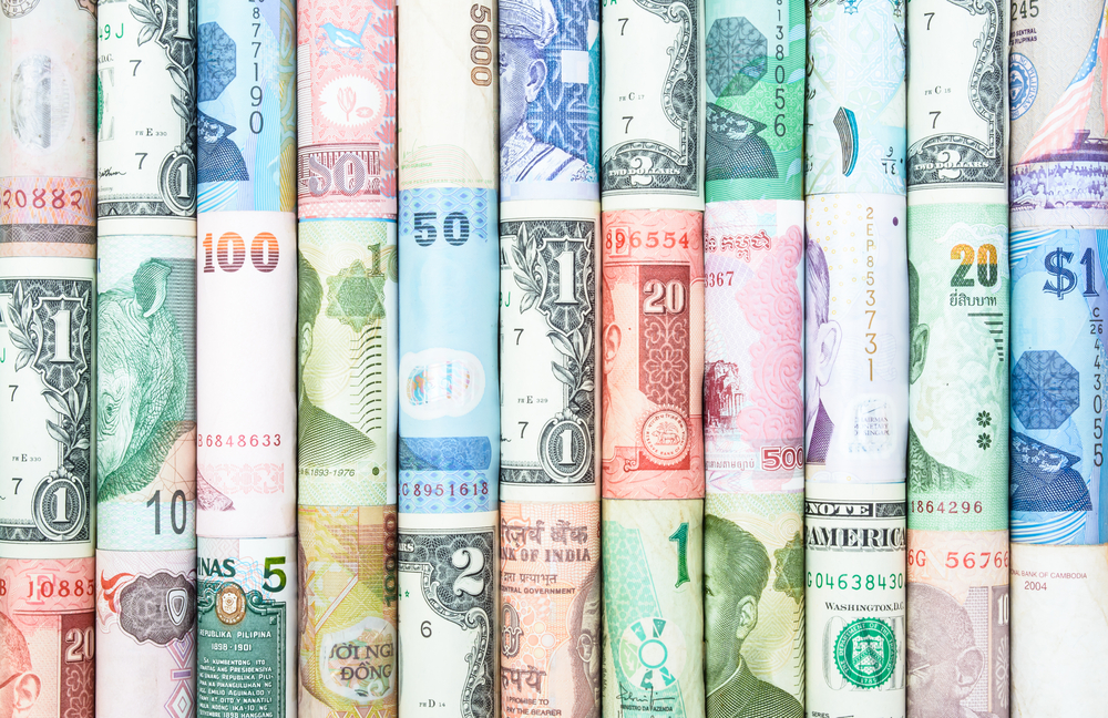 foreign currency exchange, multiple currencies