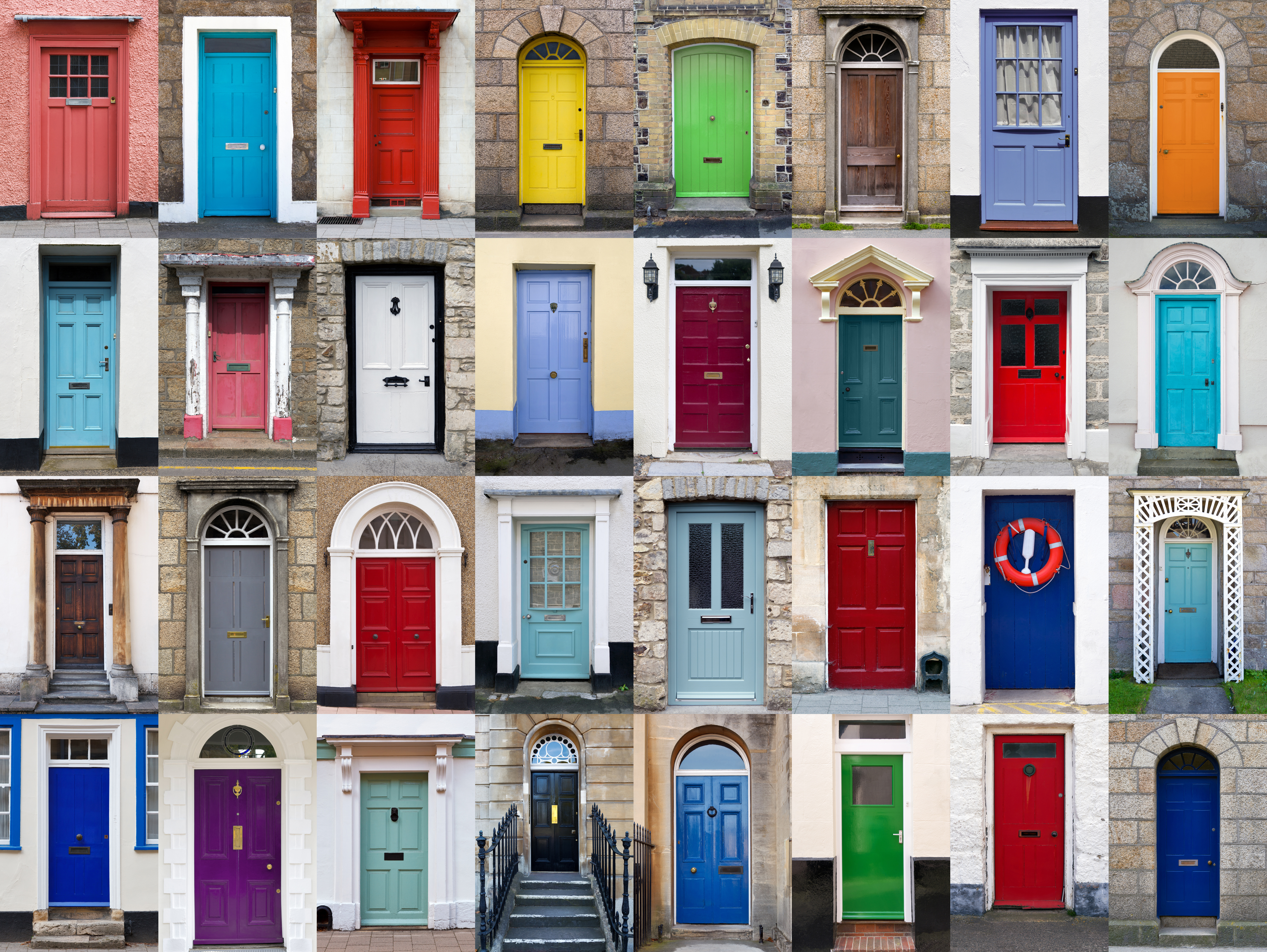 mortgage lending front doors