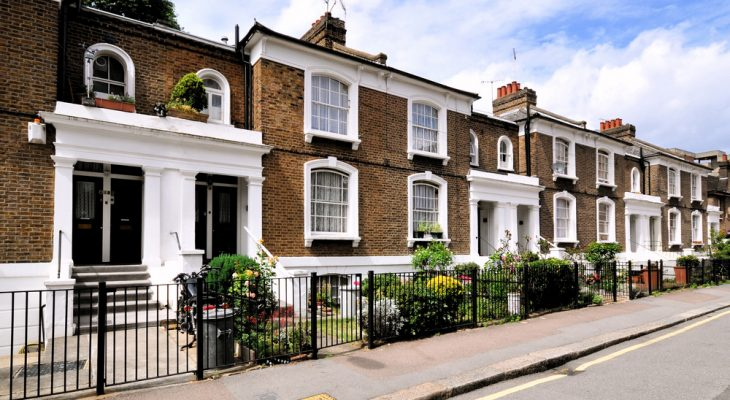 London house prices fall for first time in eight years